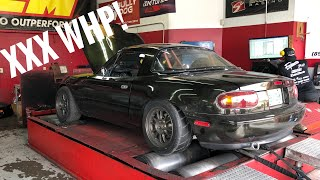 Ls Swapped Miata Dyno! How Much Will It Make!?
