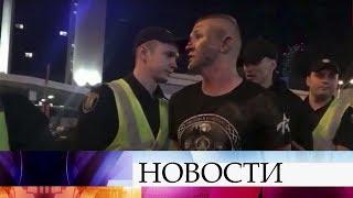 В Киеве атаковали английских болельщиков, которые приехали на матч между «Реалом» и «Ливерпулем».