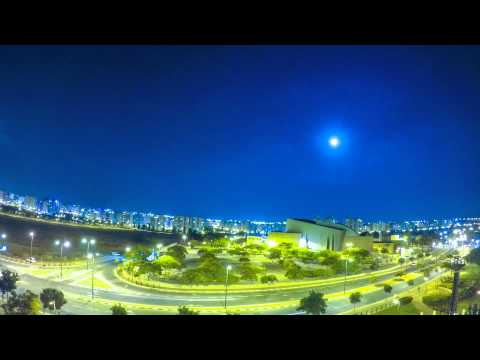 Ashkelon College, Israel  | Nightlapse | GoPro Hero 4 Silver