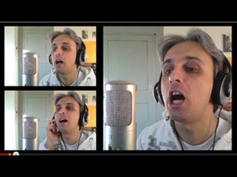 How to Sing You Won't See Me Vocal Harmony Tutorial Beatles Harmonies