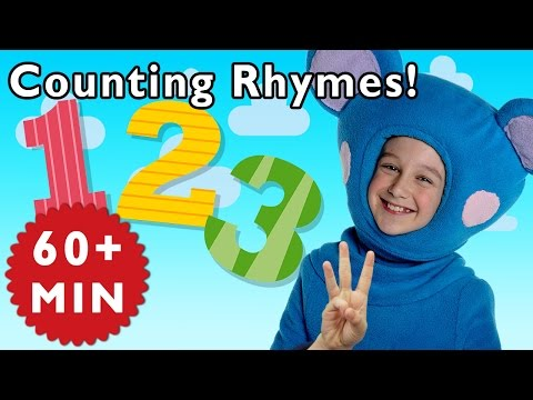 Count with Me and More Counting Rhymes | Nursery Rhymes from Mother Goose Club!