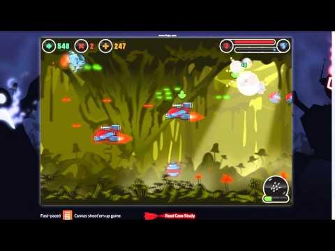 Skytte 2D shooter game original music & SFX