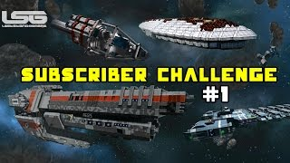 Space Engineers - Subscriber Challenge, What Have You Built ? Top 10 Part 1