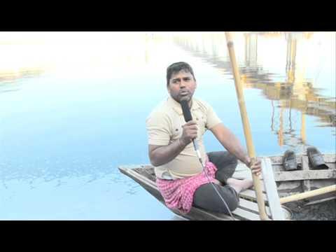 Fishing at Yamuna