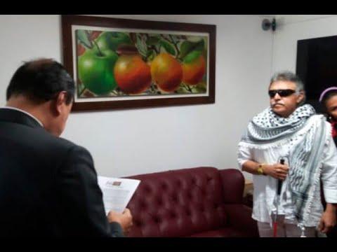 Jesús Santrich, señalado de narcotraficante, se posesionó en el Congreso de la República