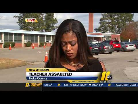 Teacher Assaulted At Hoke County Elementary School