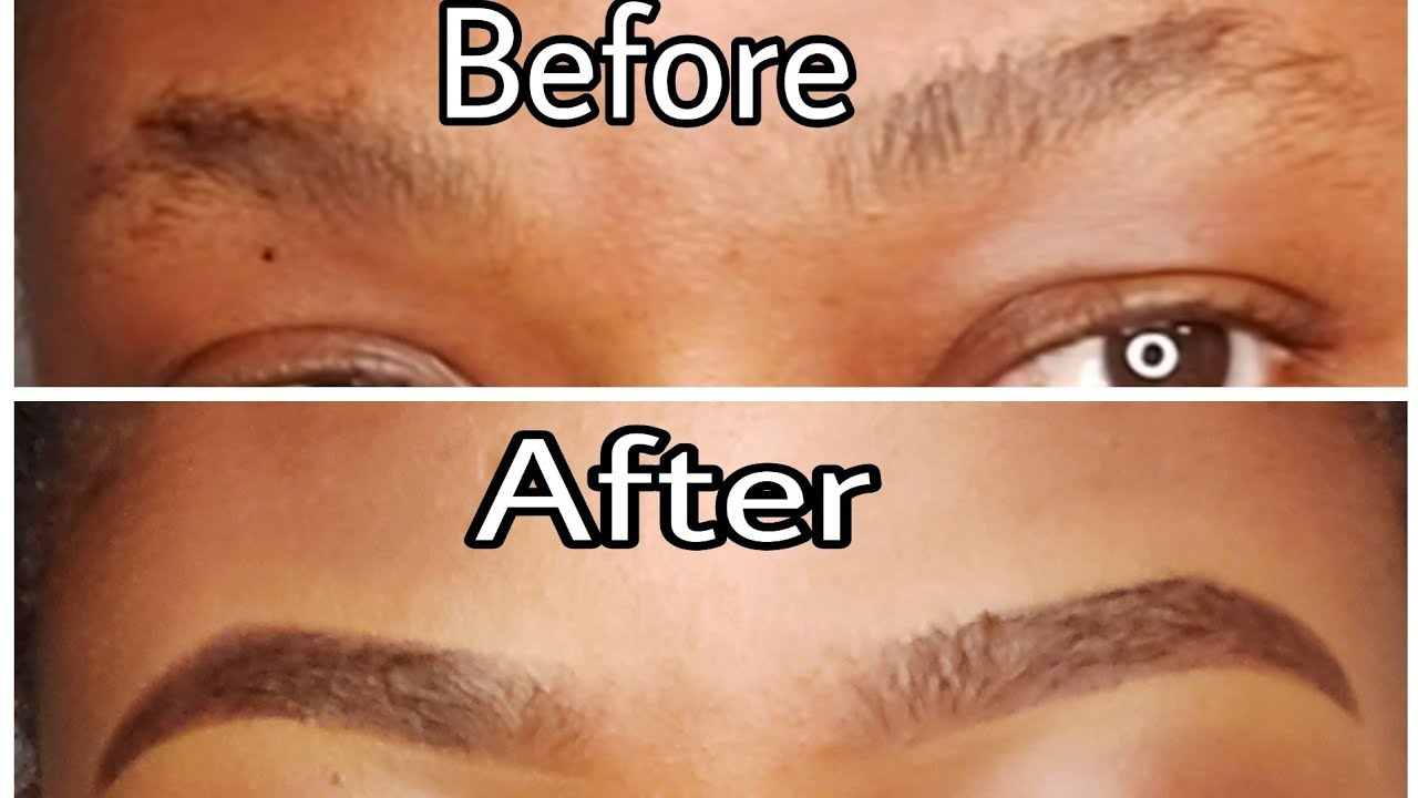 HOW TO: SHAPE YOUR EYEBROWS WITH A RAZOR + EYEBROWS ...