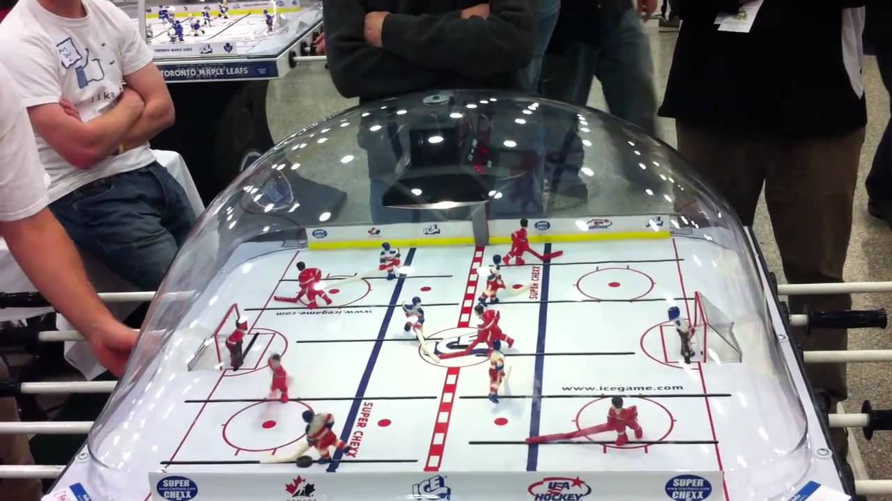 Singles Bubble Hockey Championship Dec 28 Buffalo - Game 1 of Finals ...