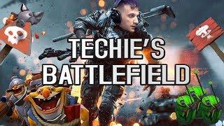 Dota 2: Arteezy - Nightmare in Techie's Battlefield | Making 6000 Mistakes a Minute