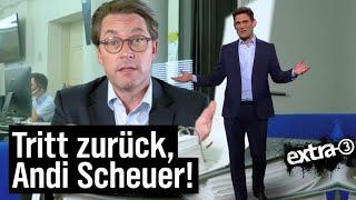 Andreas Scheuer: Fachkräftemangel in Person