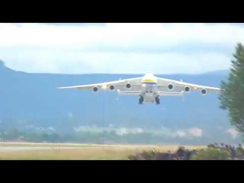Antonov 225 Take Off at Mulhouse-Basel Euroairport
