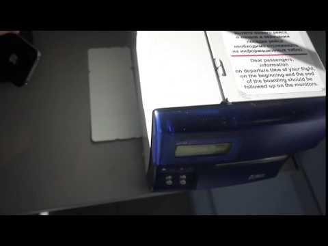 Печатаем посадочный S7 с мобильного телефона в DME