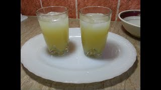 Ananas and Keri Flavour Sharbat Recipe (Ramzan Special)