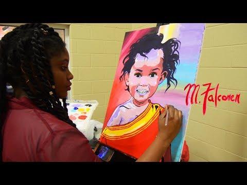 Painting for Somalia   M.Falconer