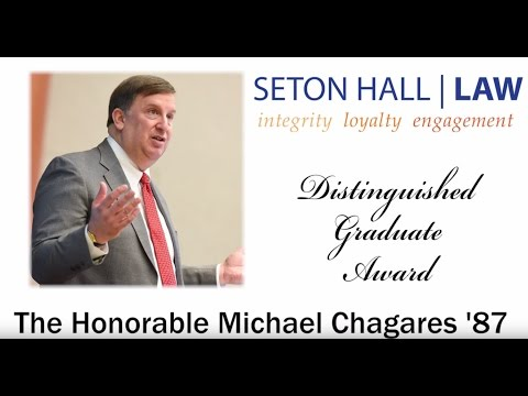 Seton Hall Law awarded The Honorable Michael Chagares
