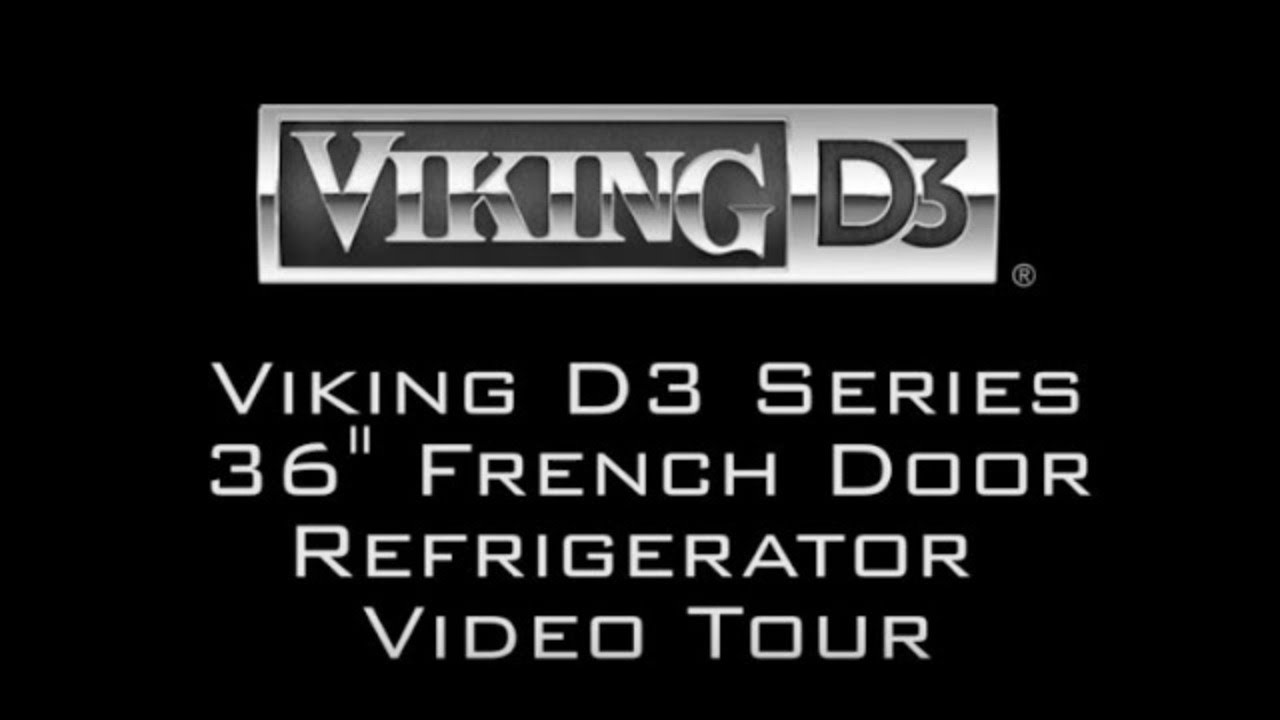 Genial Viking D3 Refrigerator Video Tour (RDDFF236SS)   YouTube