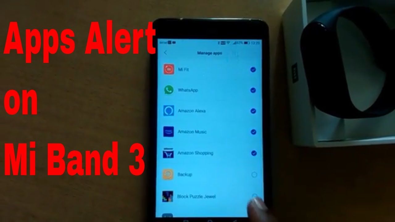 How to Enable WhatsApp Apps and Incoming sms notifications on Xiaomi Mi  Band 3
