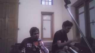 Dekopul kandulin thema... violin n piano cover.