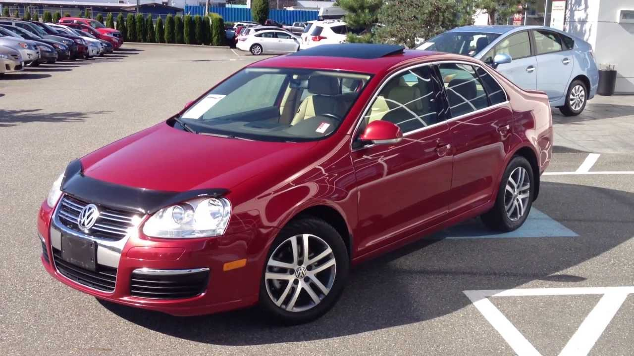 sold 2006 red volkswagen jetta tdi for sale at valley toyota scion in chilliwack bc 13971a. Black Bedroom Furniture Sets. Home Design Ideas
