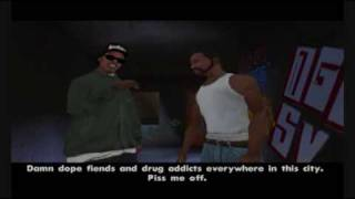 Gta San Andreas - Mission 4 - Cleaning The Hood - (PC)