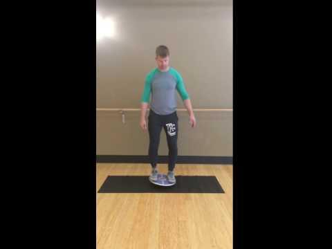 Balance Board Exercise #3: Side Tilt