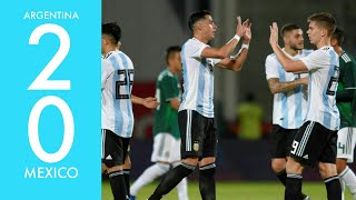 Argentina Vs Mexico (2-0) | All Goals and Highlights