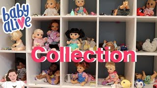 Updated 2019 Baby Alive Collection! | Kelli Maple