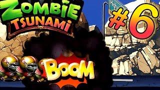 Zombie Tsunami #6 Собираем большую армию ЗОМБИ. Игра как мультик про ЗОМБИ