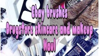 Drugstore makeup haul Target Daiso kmart ebay(, 2017-03-04T11:38:09.000Z)