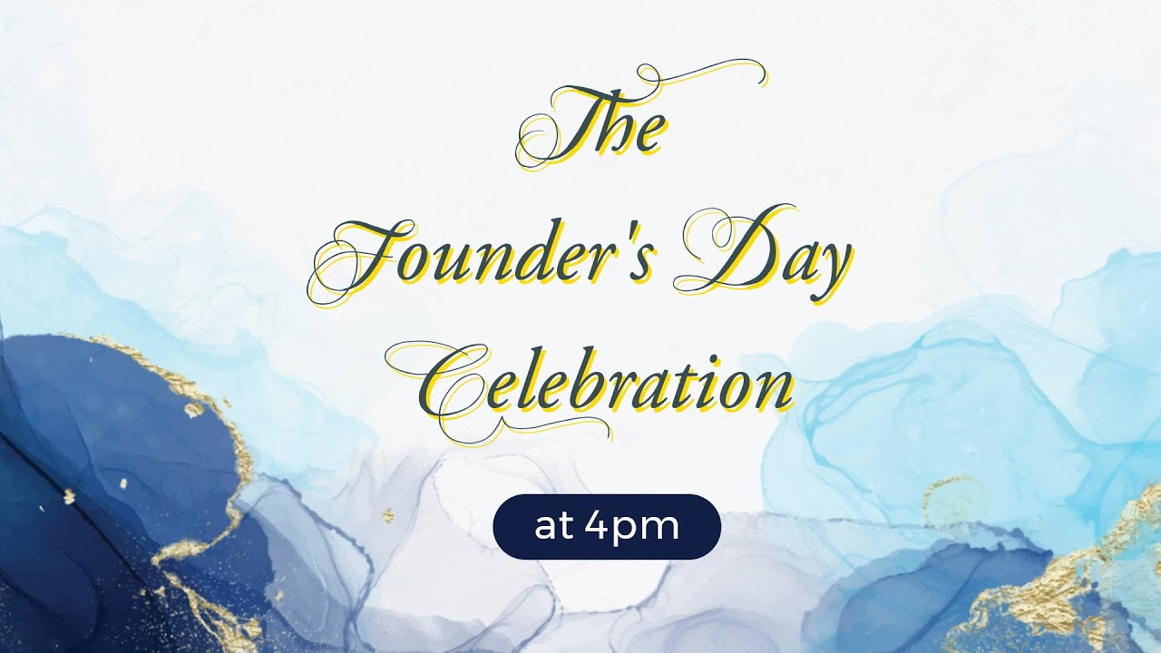 The Founders Day Celebration 2020
