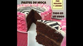 Aquí te muestro una exquisita receta de pastel de moca casero! Suscríbete a mi canal https://www.youtube.com/user/MadelinsCakes PASTEL DE MOCA ...