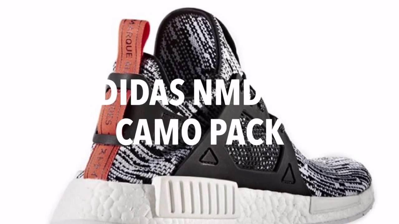 adidas nmd camo pack