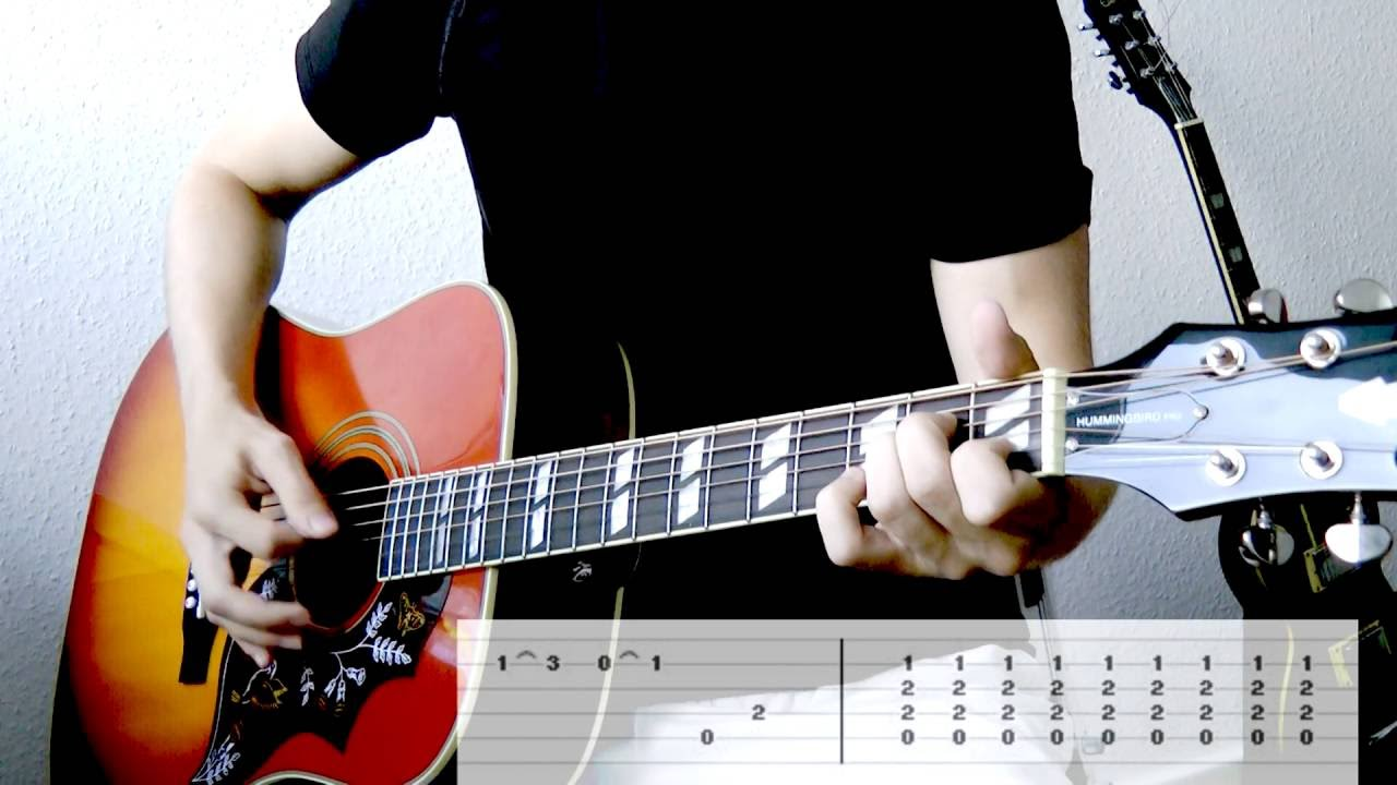 Tenacious D Tribute Intro Guitar Cover Wtabs On Screen Youtube