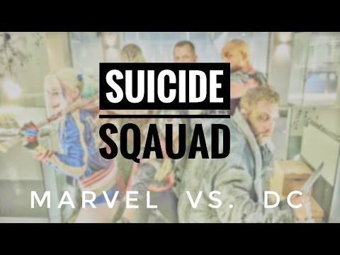 MARVEL vs DC - the Suicide Squad Effect