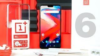 OnePlus 6 - ЛУЧШИЙ АНДРОИД СМАРТФОН 2018??! ОБЗОР, РАСПАКОВКА И СРАВНЕНИЕ С iPHONE X, GALAXY S9+