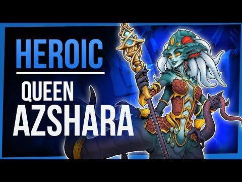 QUEEN AZSHARA | Heroic Eternal Palace | WoW Battle For Azeroth 8.2 | FinalBossTV