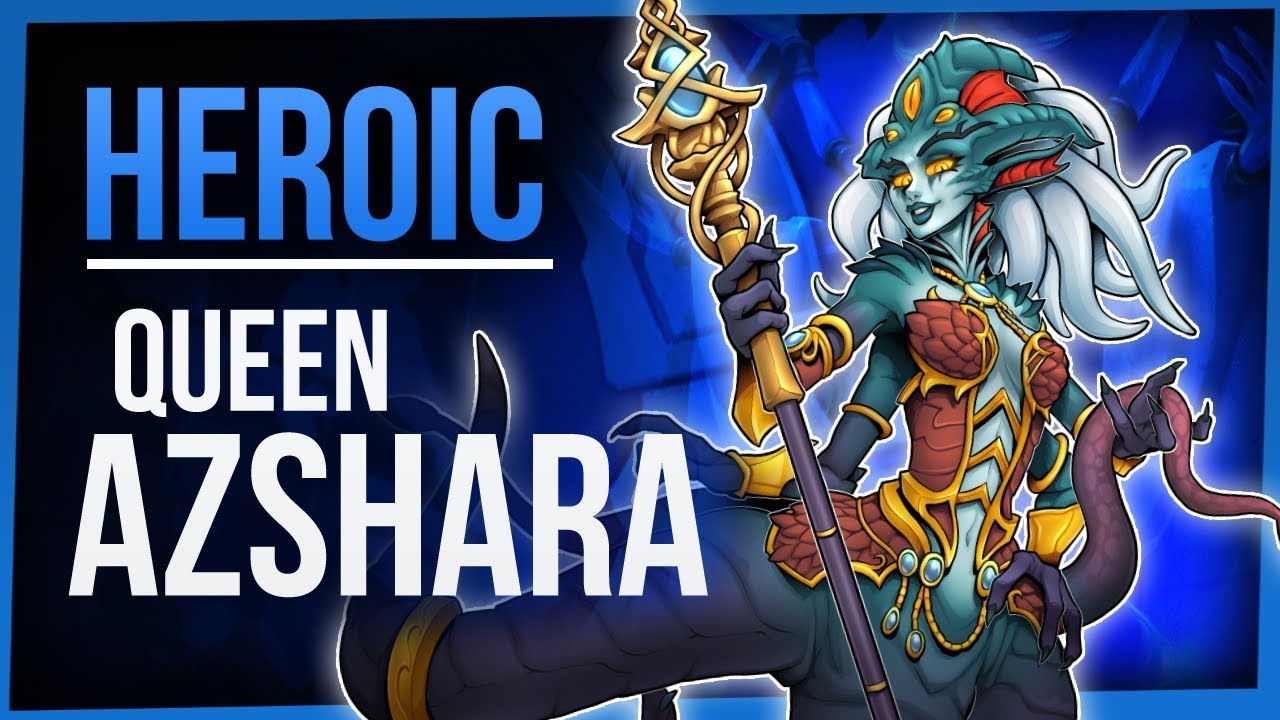QUEEN AZSHARA | Heroic Eternal Palace | WoW Battle for Azeroth 8 2 |  FinalBossTV