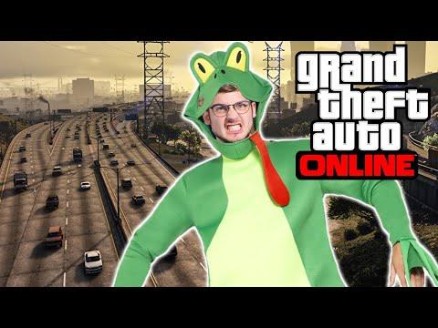 Challenge: MACH DEN FROGGER 🎮 Grand Theft Auto Online #183