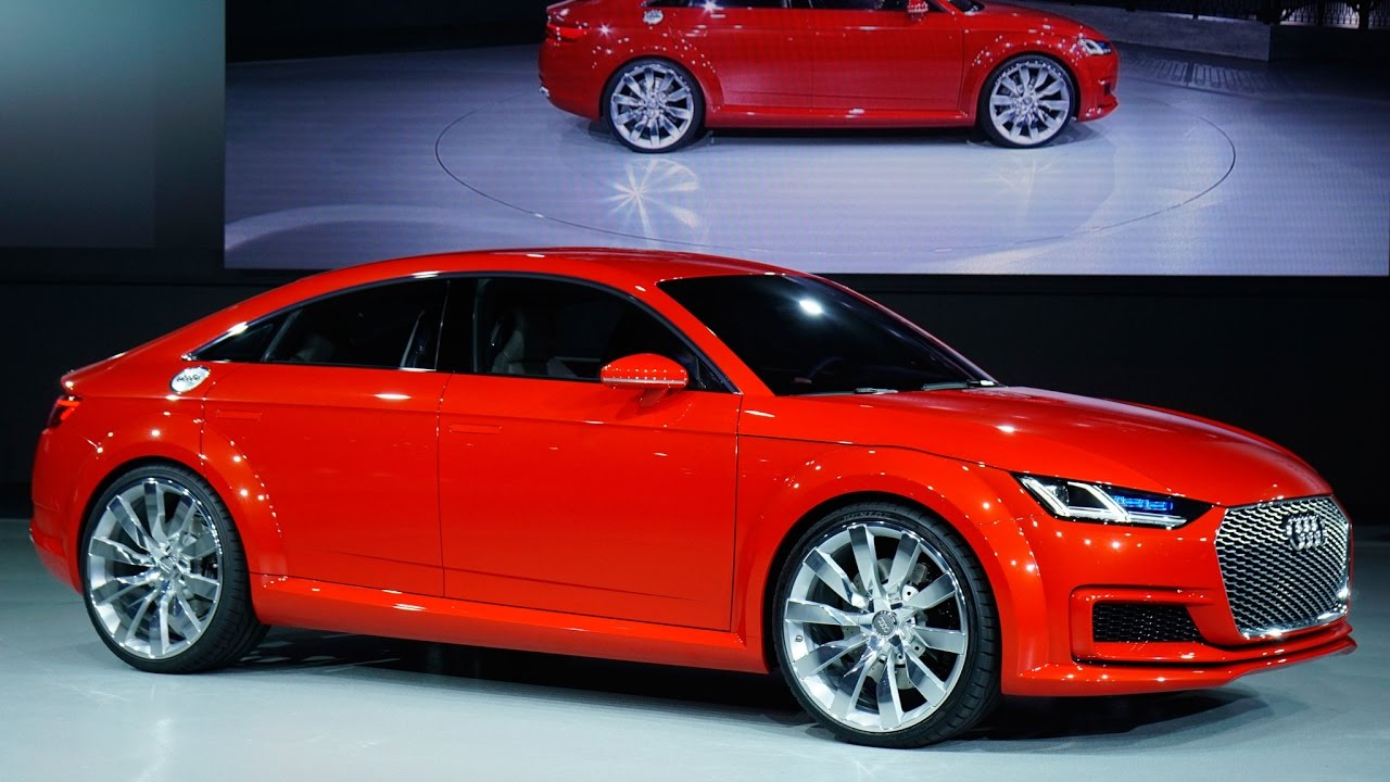 new 2017 audi tt sportback concept first look (1080q) - youtube