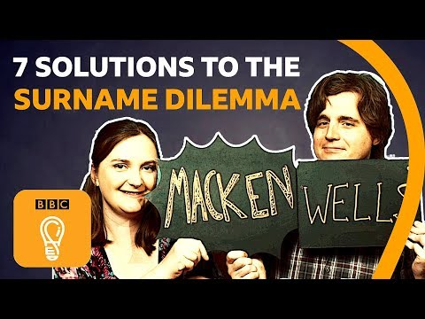 Seven simple solutions to the surname dilemma | BBC Ideas