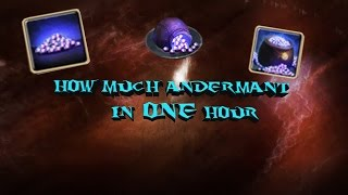 Drakensang Online How Much Andermant Can You Farm Per Hour?