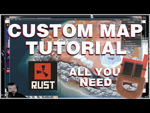 Rust Custom Maps Tutorial - All You Need To Get Started