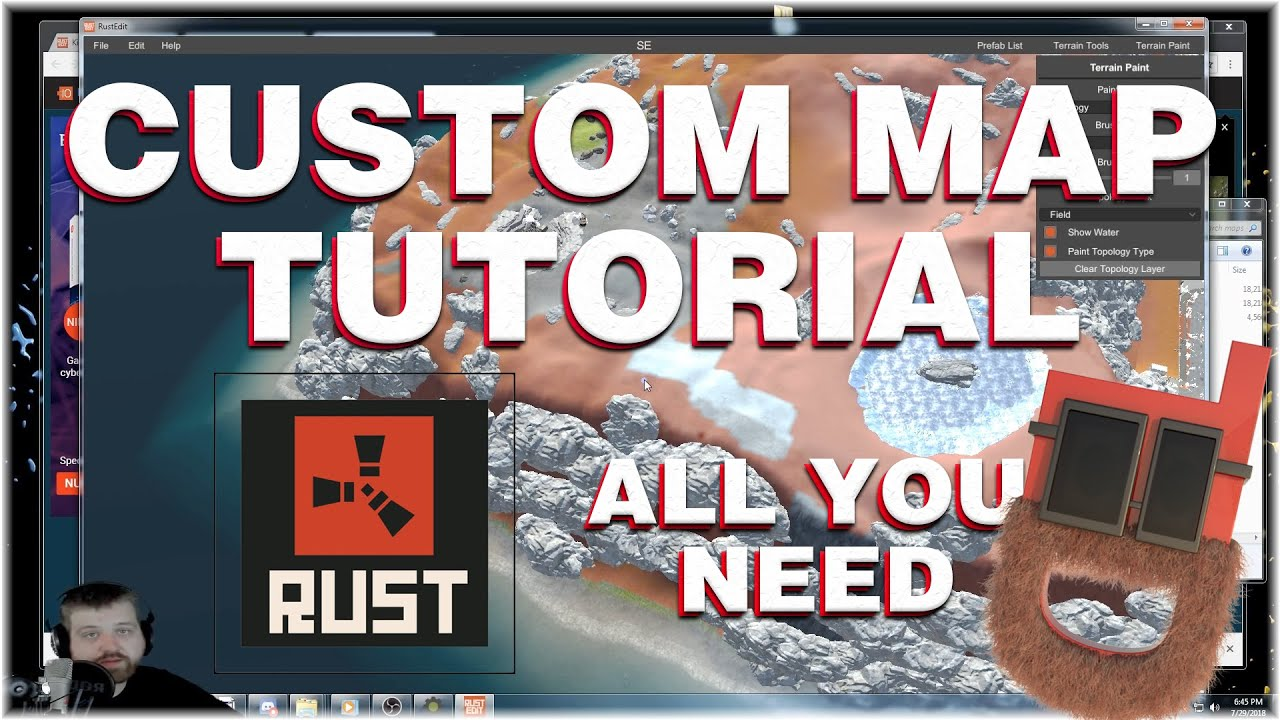 Rust Custom Maps Tutorial - All You Need To Get Started! (Rust Edit)