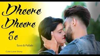 Dheere Dheere Se Meri Zindagi Swapneel Jaiswal Cute Love Story New Hindi Song Suvo & Pallabi
