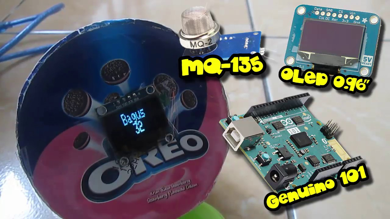 Air Quality Monitor Using Arduino & IoT Blynk