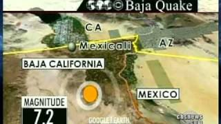 Quake Rattles Calif. Border Area