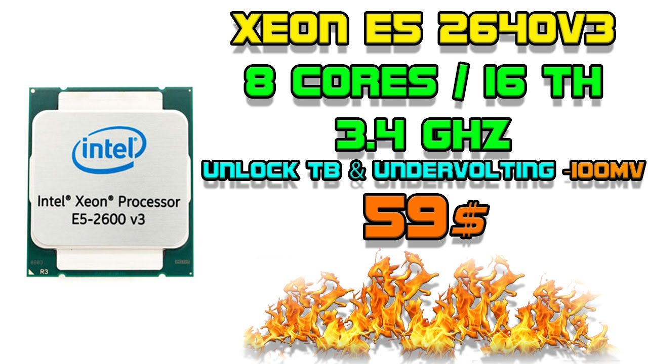 Xeon E5 2640v3 - лучший процессор на LGA2011-3 для бюджетного геймера. Сравнение с E5 1660v3
