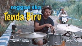 Tenda biru - reggae ska version drum cover