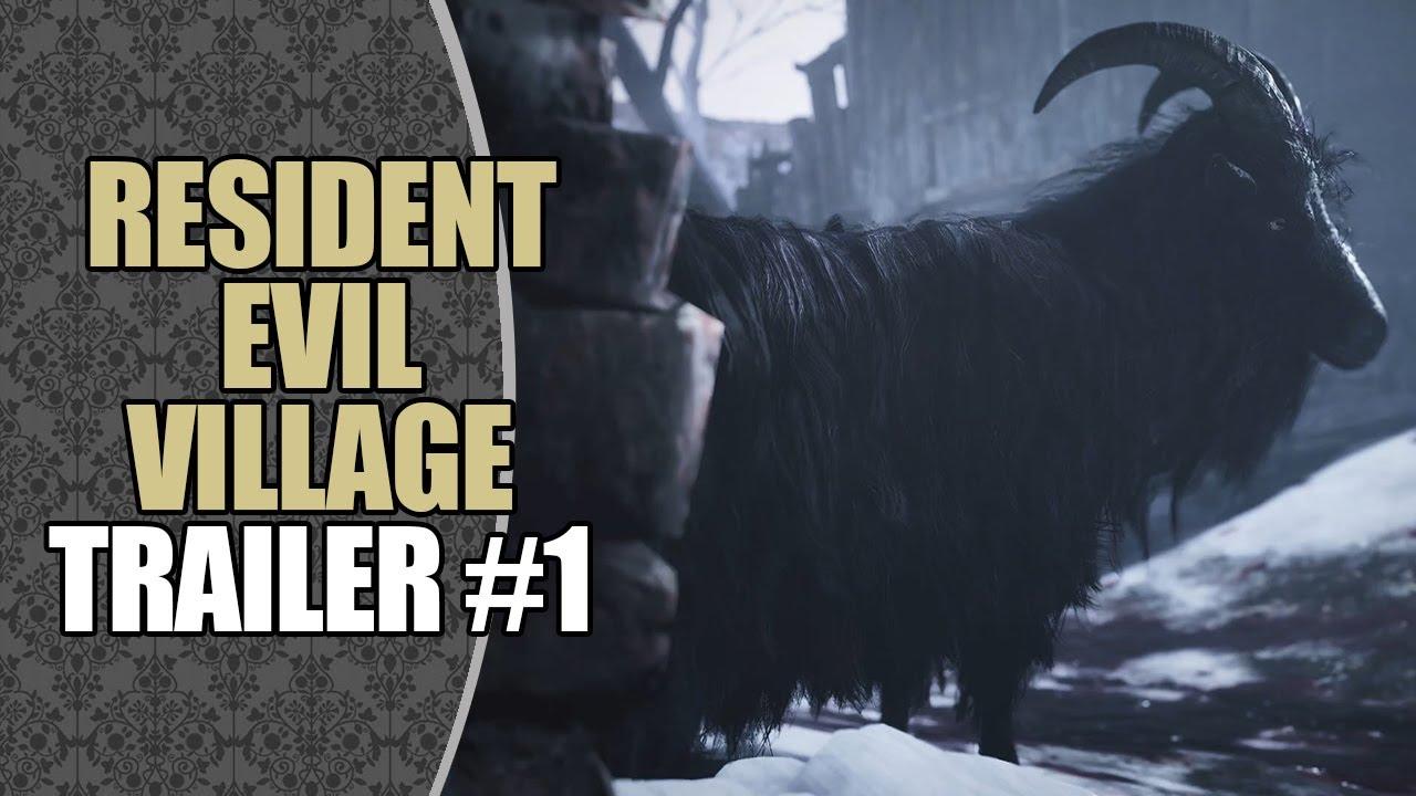 Acervo: Resident Evil Village   Trailer #1 (Legendado PT-BR)