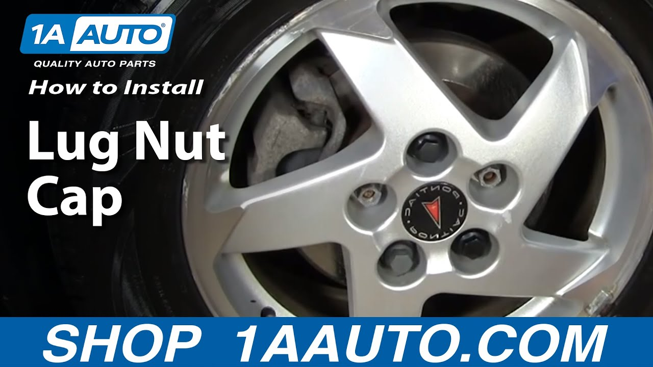 1aautocom Gm Lug Nut Caps Keep Your Wheels Decent Youtube 2013 Traverse Trailer Wiring Harness
